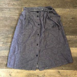 Old Navy Button Down Midi Skirt